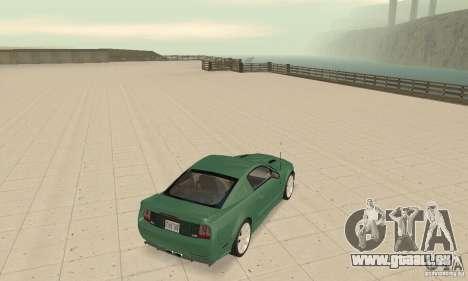 Saleen S281 v2 für GTA San Andreas zurück linke Ansicht