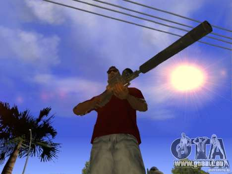 M82 pour GTA San Andreas deuxième écran