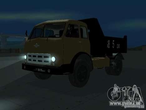 MAZ 503a Kipper für GTA San Andreas