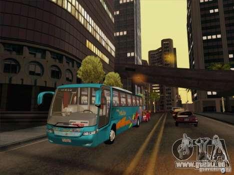 Mercedes-Benz Vissta Buss LO pour GTA San Andreas vue de côté