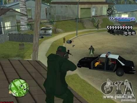 C-HUD v2.0 für GTA San Andreas
