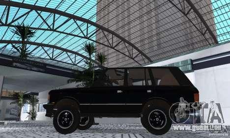 Range Rover County Classic 1990 für GTA San Andreas rechten Ansicht
