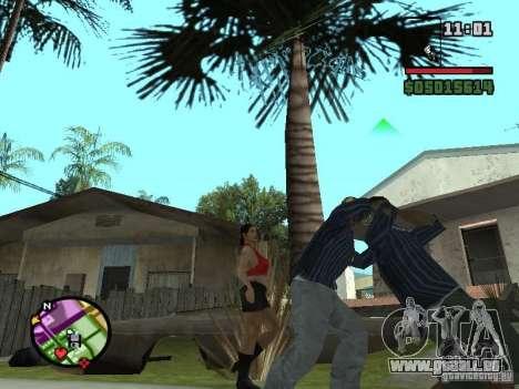 G: pour GTA San Andreas quatrième écran