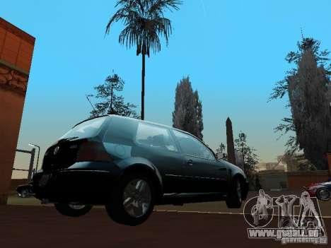 Volkswagen Golf 4 GTI für GTA San Andreas zurück linke Ansicht