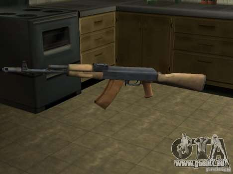 AK-74 von Arma II für GTA San Andreas
