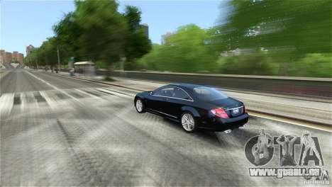 Mercedes-Benz CL65 AMG v1.5 pour GTA 4 Vue arrière