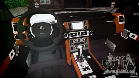 Land Rover Discovery 4 2011 pour GTA 4 est un droit