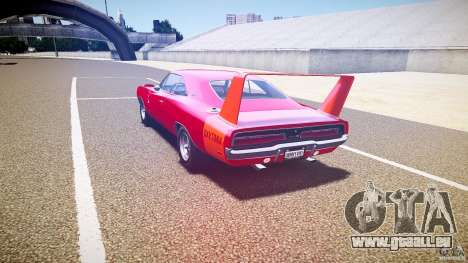 Dodge Charger Daytona 1969 [EPM] pour GTA 4 Vue arrière de la gauche