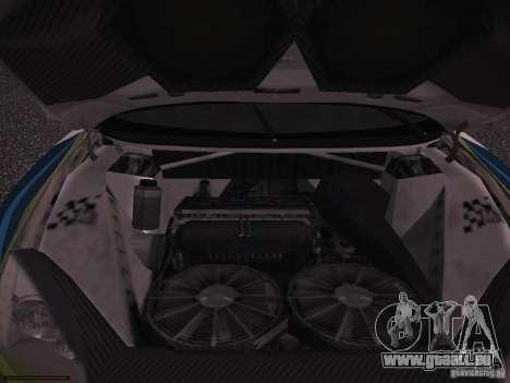 Ford Focus RS WRC 2006 pour GTA San Andreas vue de côté