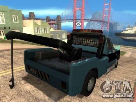 Chevrolet Towtruck pour GTA San Andreas vue de droite