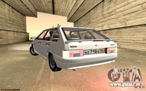 ВАЗ 2114 qualité pour GTA San Andreas vue de côté