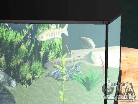 Aquarium pour GTA San Andreas troisième écran