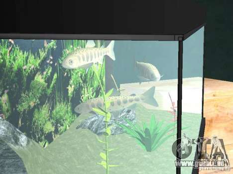 Aquarium für GTA San Andreas dritten Screenshot