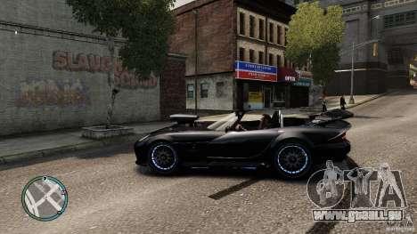 Blue Neon Banshee für GTA 4 linke Ansicht