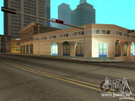 Neue Mullholland-neue Straße Mulholland für GTA San Andreas dritten Screenshot