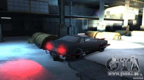 Apocalyptic Mustang Concept (Beta) pour GTA 4 est un droit