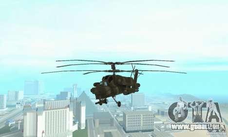 Mi-28 pour GTA San Andreas vue de droite
