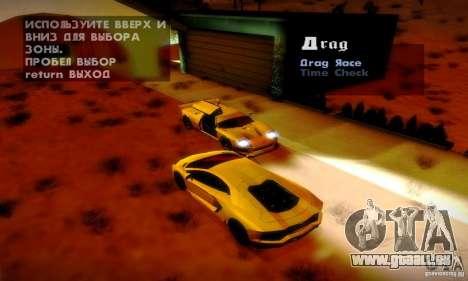 Drag Track Final pour GTA San Andreas cinquième écran