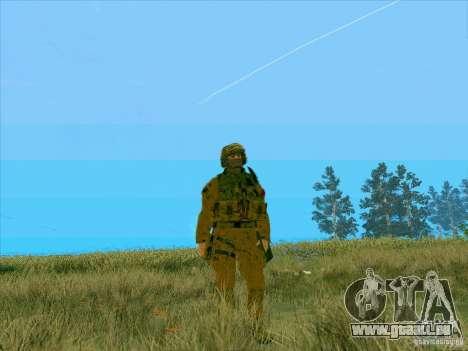 Boue Camo Morpeh pour GTA San Andreas deuxième écran