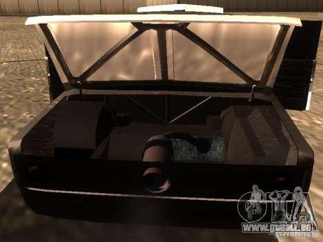 VAZ 2106 Drag Racing für GTA San Andreas Unteransicht