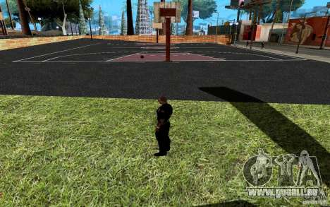 La nouvelle Cour de basket-ball pour GTA San Andreas septième écran