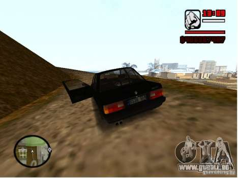 BMW 325i E30 für GTA San Andreas linke Ansicht