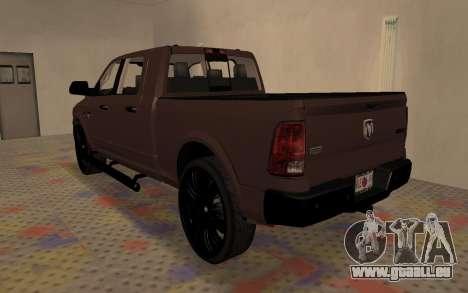 Dodge Ram 3500 für GTA San Andreas linke Ansicht