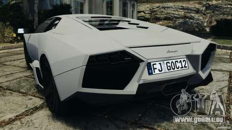 Lamborghini Reventon 2008 v1.0 [EPM] pour GTA 4 Vue arrière de la gauche
