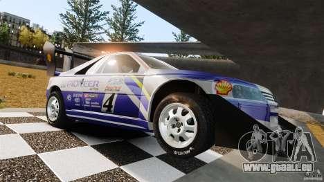 Peugeot 405 T16 Pikes Peak pour GTA 4 est un côté