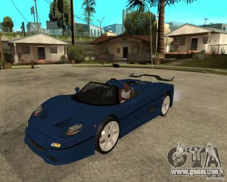 Ferrari F50 - special tuning by JvtDeSiGn pour GTA San Andreas