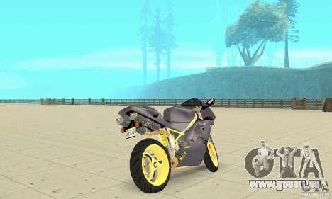 Ducati 916 pour GTA San Andreas laissé vue
