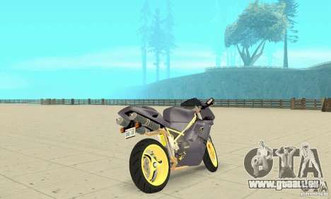Ducati 916 für GTA San Andreas linke Ansicht