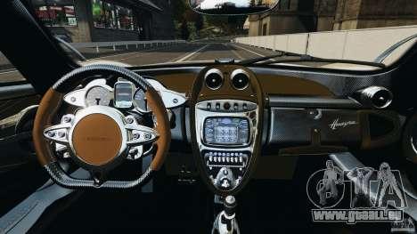 Pagani Huayra 2011 v1.0 [RIV] pour GTA 4 Vue arrière