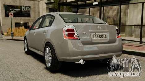 Nissan Sentra S 2008 für GTA 4 hinten links Ansicht