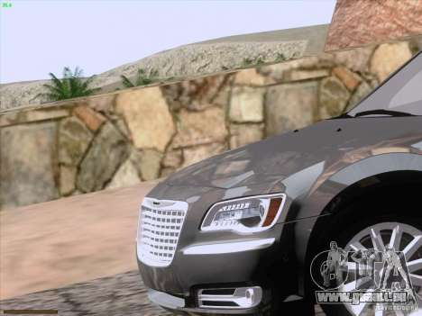 Chrysler 300 Limited 2013 pour GTA San Andreas salon