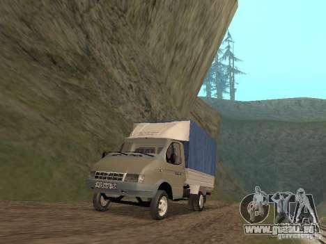 GAZ 3302 im Jahr 2001. für GTA San Andreas