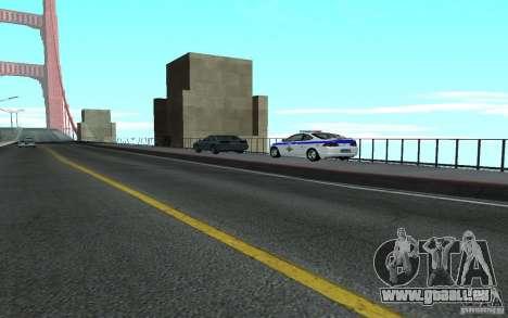 Polizei auf der Brücke von San Fiero_v. 2 für GTA San Andreas dritten Screenshot