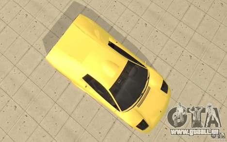 Infernus de GTA 4 pour GTA San Andreas vue de droite
