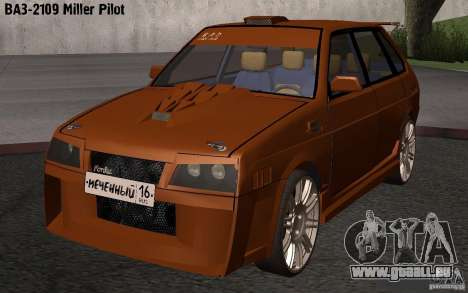 VAZ 2109 Miller Pilot für GTA San Andreas