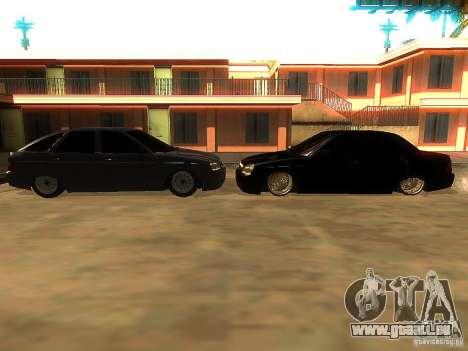 Lada Priora Dag Style für GTA San Andreas Innen