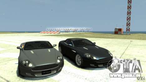 Aston Martin Volante DB9 pour GTA 4 Vue arrière