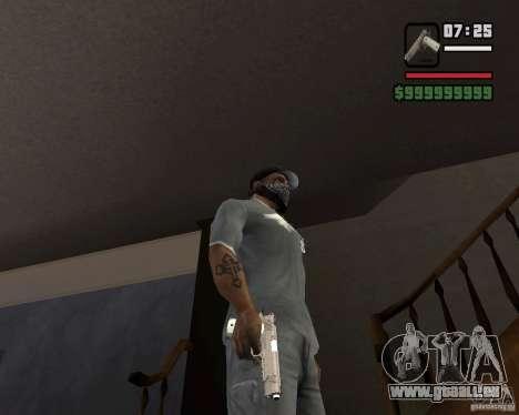 Kimber Desert Warrior für GTA San Andreas dritten Screenshot