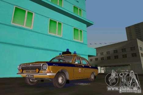 GAZ-24 Miliz für GTA Vice City