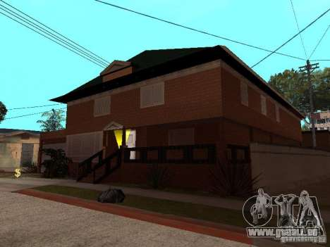 CJ's Haus in russischer Sprache für GTA San Andreas dritten Screenshot