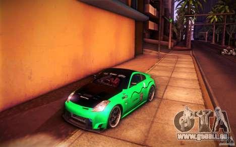 Nissan 350Z Fairlady für GTA San Andreas Innen