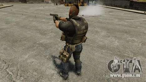 Le capitaine John « 4 » Mctavish pour GTA 4 cinquième écran