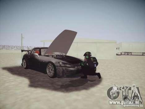 Honda S2000 JDM Dirft pour GTA San Andreas vue de côté
