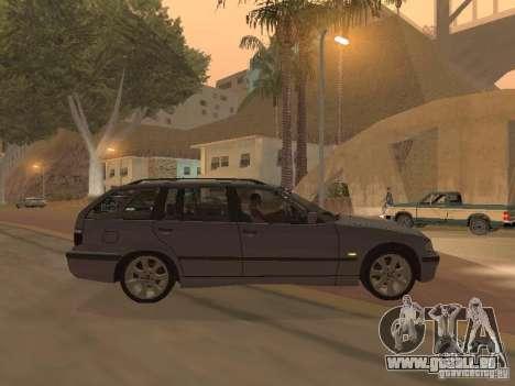 BMW 318 Touring pour GTA San Andreas vue de droite
