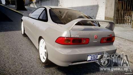 Acura Integra Type-R pour GTA 4 Vue arrière de la gauche