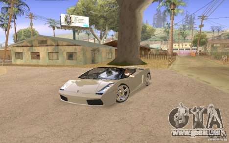 Lamborghini Galardo Spider für GTA San Andreas